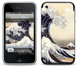 The Great Wave - Katsushika Hokusai - iPhone 3G