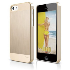Elago S5C Outfit Morph MX  for iPhone 5C - Gold / Gold