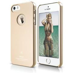 Elago S5 Slim Fit Case for iPhone 5/5s/SE - Gold