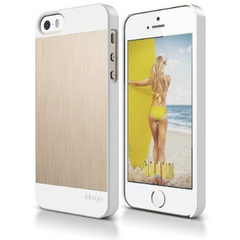 S5 Outfit MATRIX Aluminum Case - White / Gold