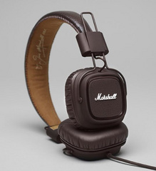 Marshall Headphones Major - Brown