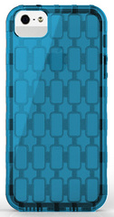 Pinlo Chain Case for iPhone 5/5s/SE - Transparent Blue