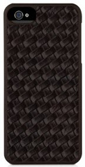 Texture snap-on case - Brown