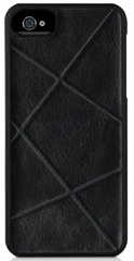 Texture snap-on case - Black