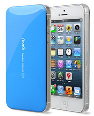 Van.D Premium Lighting iPhone 5 Case - Blue