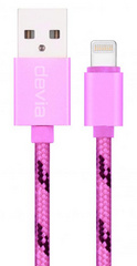 Devia Fashion Lightning Cable 1m - Rose