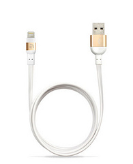 PeAk Flat Lightning Cable 120cm - Gold