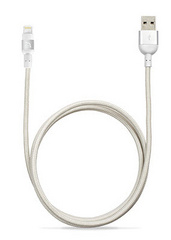 Adam Elements PeAk Braid Lightning Cable 120cm - Silver