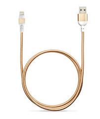 Adam Elements PeAk Braid Lightning Cable 120cm - Gold