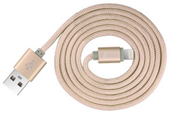 Fashion 2 Lightning Cable 1m - Gold