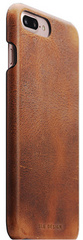 D7 Italian Wax Leather Back Case -  Brown