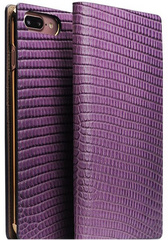 D3 Italian Lizard Leather Case - Purple