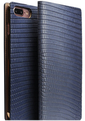 D3 Italian Lizard Leather Case - Blue