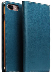 D6 Italian Minerva Box Leather Case - Blue