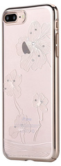 Comma Crystal Flora Case for iPhone 7/8 Plus - Champagne Gold