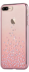 Comma Unique Polka Case for iPhone 7/8 Plus - Rose Gold
