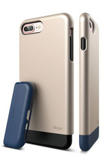 Elago S7+ Glide for iPhone 7 Plus - Champagne Gold / Jean Indigo