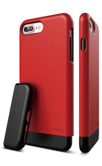 Elago S7+ Glide for iPhone 7 Plus - Extreme Red / Black