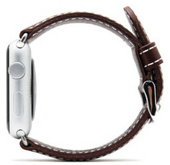 D6 Italian Leather Strap - Brown