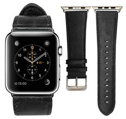 Jison Case Genuine Leather Band 38 | 40 mm - Black
