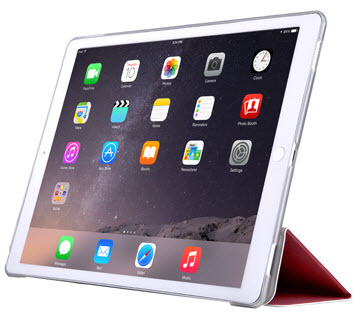 Light Grace iPad 10.2'' case - Rose Red