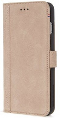 Decoded Leather Wallet Case - Beige