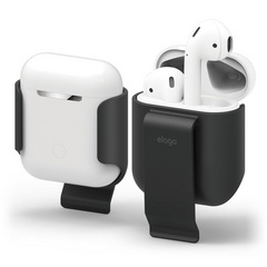 Elago Airpods Carrying Clip - Black
