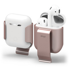 Elago Airpods Carrying Clip - Rose Gold