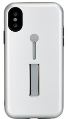 BMT SelfieLOOP case for iPhone X/Xs - Silver