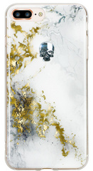 BMT Treasure Alabaster/Silver Skull case for iPhone 7/8 Plus