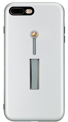 BMT SelfieLOOP case for iPhone 7/8 Plus - Silver/Gold