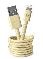Fresh 'n Rebel Fabriq Lightning Cable Buttercup - 1.5m/3m