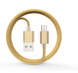 Devia Micro USB Cable Gold - 1.5m