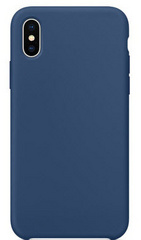 Original Silicone Case for iPhone X - Midnight Blue