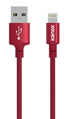 Kanex Premium DuraBraid Lightning Cable - Red