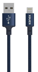 Kanex Premium DuraBraid Lightning Cable - Navy Blue