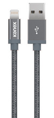 Kanex Premium DuraBraid Lightning Cable - Space Grey