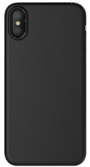 SwitchEasy Ultraslim case for iPhone X - Solid Black