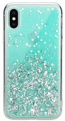 SwitchEasy Starfield case for iPhone X - Mint