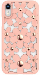SwitchEasy Fleur Case for iPhone Xr - Pink
