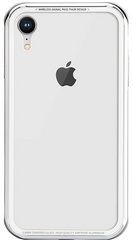 SwitchEasy iGlass Case for iPhone Xr - Silver