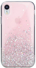SwitchEasy Starfield Case for iPhone Xr - Pink