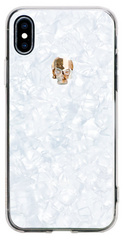 BMT Treasure White Gold Skull case for iPhone X/Xs
