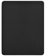 Devia Leather iPad 10.2'' case with Apple Pen Holder - Black