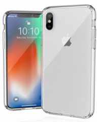 JT Legend Hybrid Cushion Basic Case for iPhone X/Xs - Clear