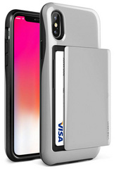 Verus Damda Glide Series case for iPhone X/Xs - Silver