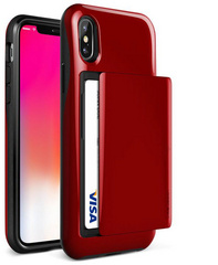 Verus Damda Glide Series case for iPhone X/Xs - Red