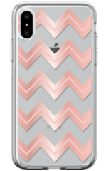 Devia Bowen Series Case for iPhone X - Rose Gold