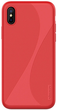 Nillkin Flex Liquid Silicone Case for iPhone X/Xs - Red