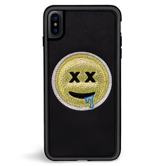 ZG Embroidered Case for iPhone X/Xs - Drool